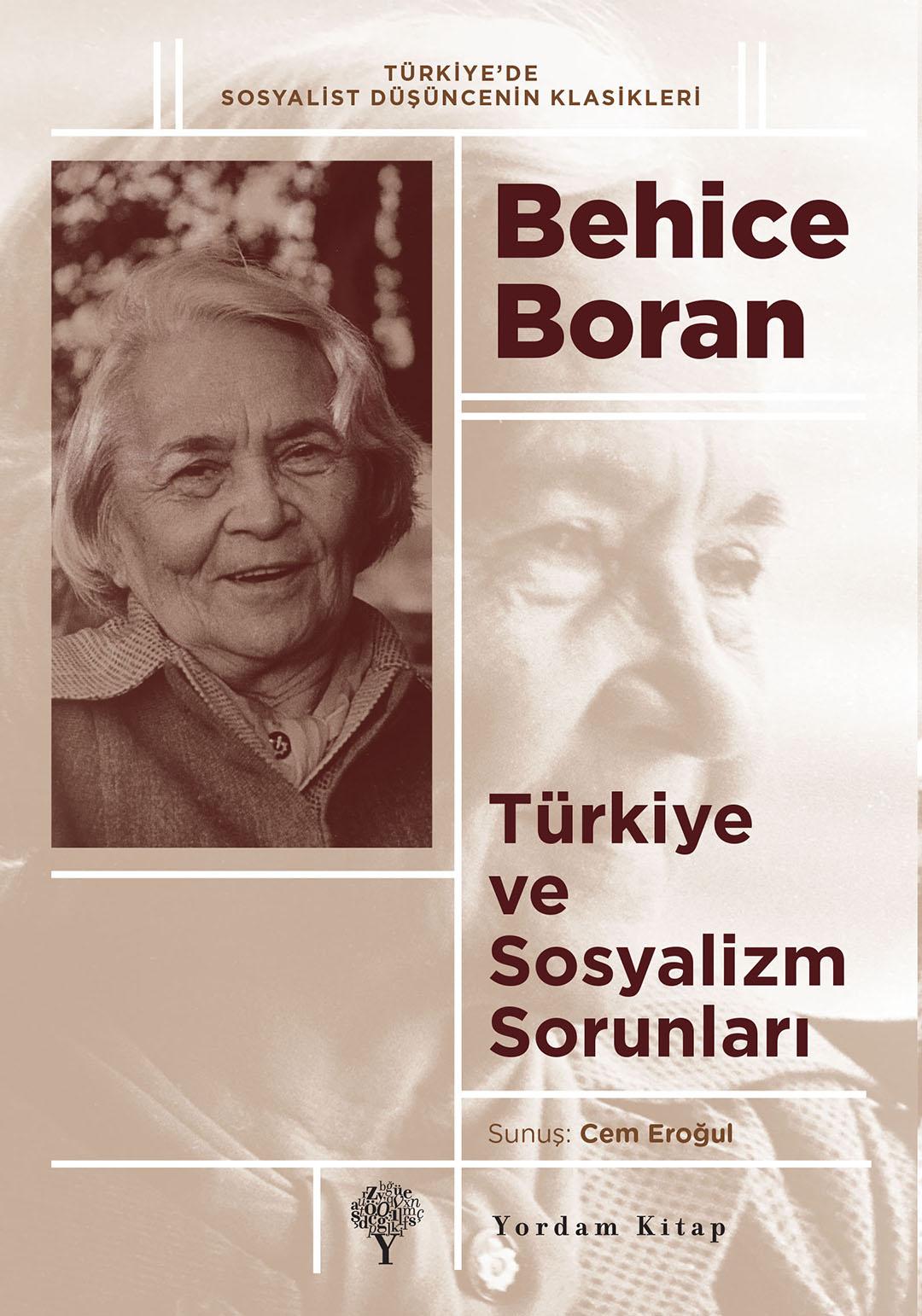 280_BehiceBoran_SosyalizmSorunlari_Kapak.indd