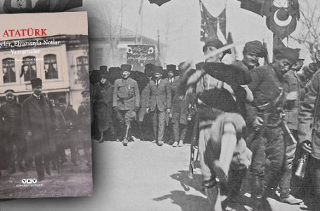Atatürk'ün el yazısıyla notlar