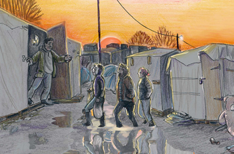 Kate Evans imzalı grafik roman İlmekler: Mülteci Krizinden Bir Kesit