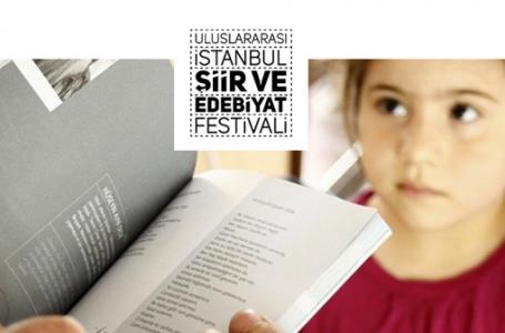 Uluslararası İstanbul Şiir ve Edebiyat Festivali başlıyor