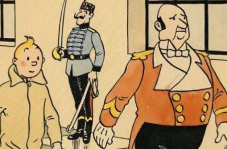 Orijinal Tenten çizimi 500 bin dolara satıldı